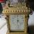 Marcus Bush' Ansonia alarm clock that was detailed by Darrah Artzner